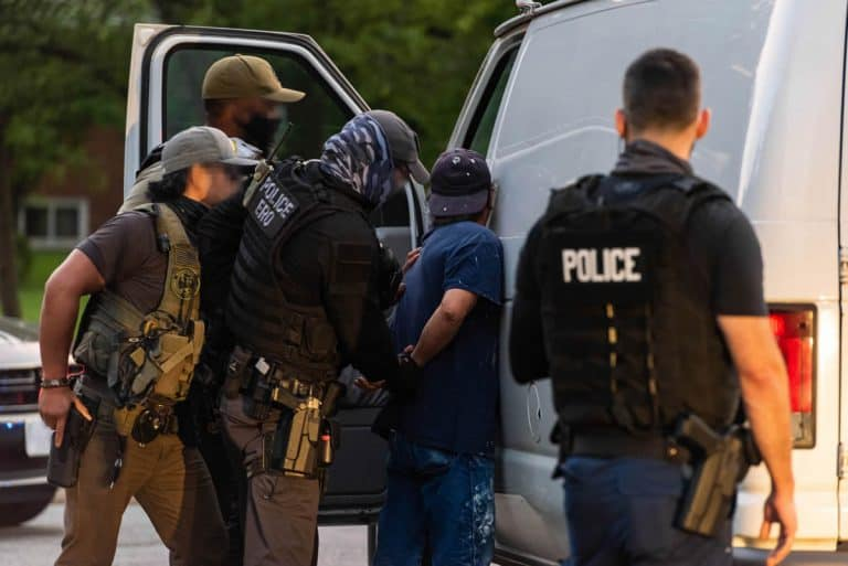 In FY 2019, ICE ERO arrested individuals with more than 1,900 convictions and charges for homicide, 1,800 for kidnapping, 12,000 sex offenses, 5,000 sexual assaults, 45,000 assaults, 67,000 crimes involving drugs, 10,000 weapons offenses, and 74,000 DUIs.
