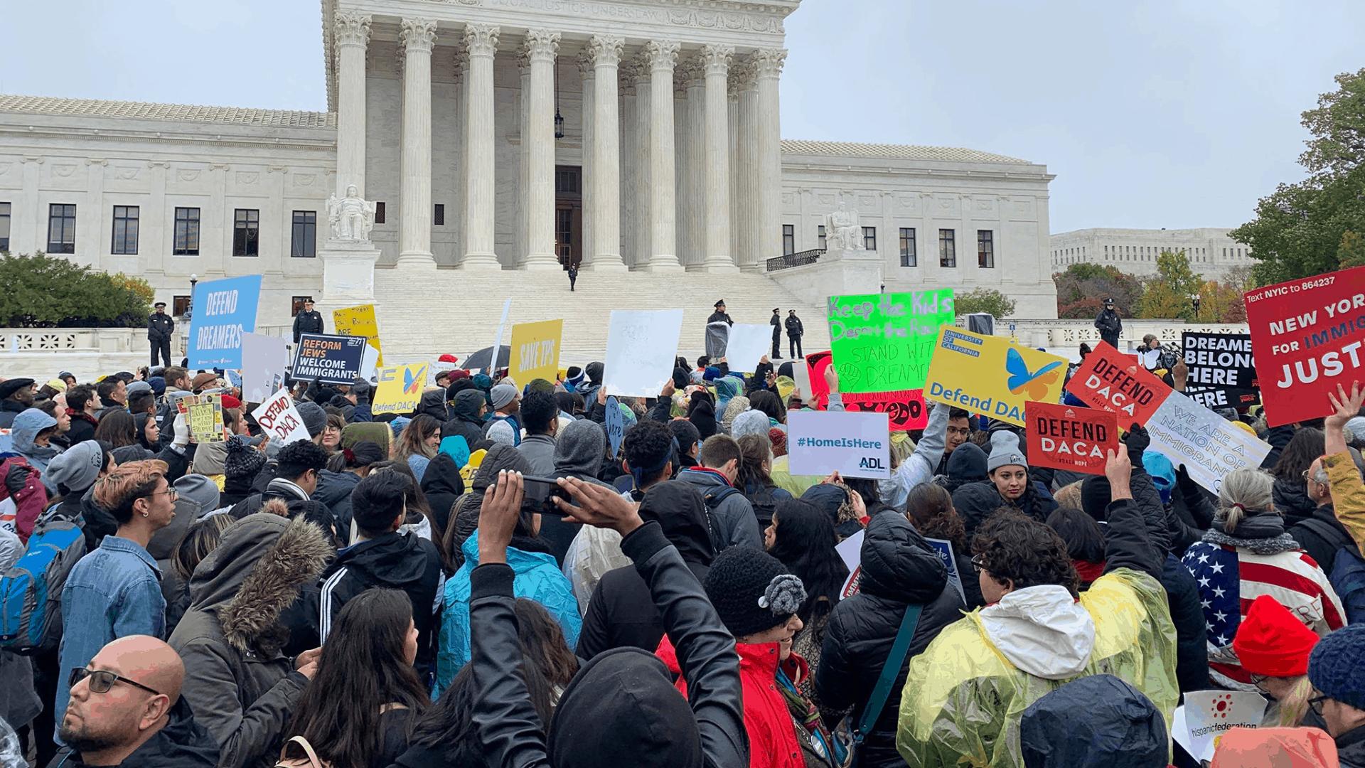 Dreamers en La Corte Suprema