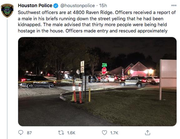 Un hombre en calzoncillos pedía ayuda en una calle de Houston: la policía halló a 26 inmigrantes secuestrados en una casa | Inmigración by Facundo Valdez