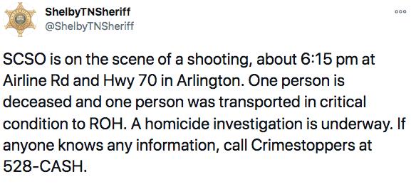 Un muerto es el saldo de un tiroteo cerca de McDonald's en Airline Rd y Highway 70   Local by Facundo Valdez