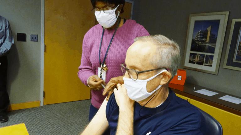 Vacuna llegó a MS