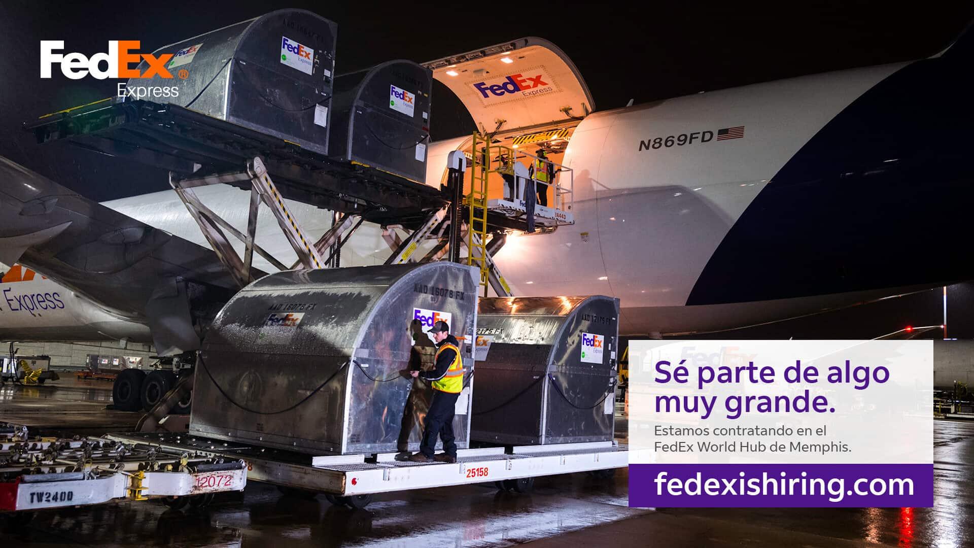 Se parte de algo grande con FedEx Hub Memphis | Comunidad by Facundo Valdez