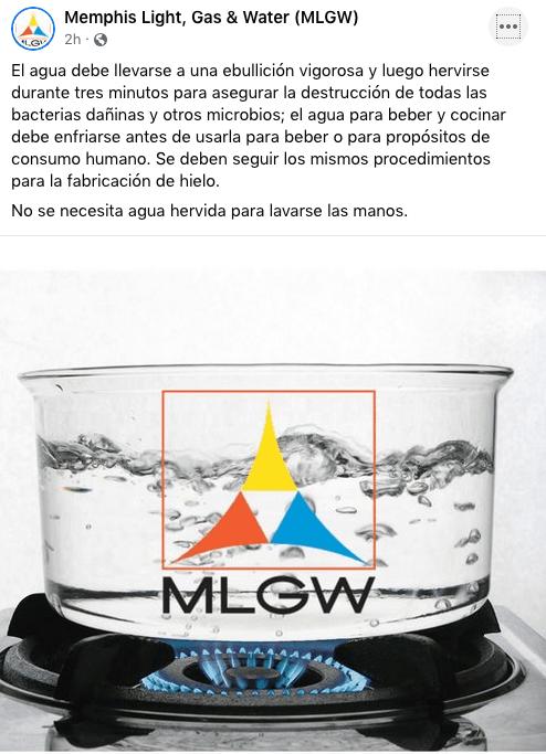 MLGW pide seguir hirviendo el agua para consumo hasta nuevo aviso   Local by Facundo Valdez