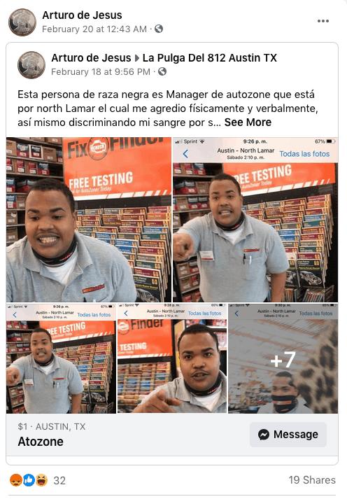 Hispano denuncia haber sido maltratado por empleado de AutoZone y nos concede entrevista | Noticia by Memphis Noticias