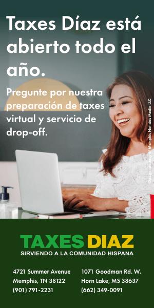 Taxes Diaz Half Page | Local by Memphis Noticias
