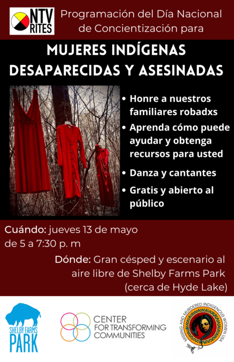 Dia Nacional de Concientización en Shelby Farms: Mujeres Indígenas Desaparecidas y Asesinadas | Comunidad by Memphis Noticias