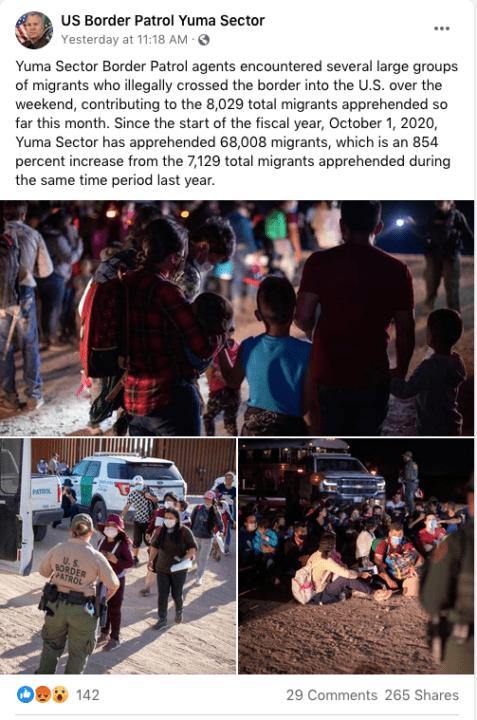 Más de 8 mil inmigrantes fueron detenidos en la frontera con México | Noticia by Memphis Noticias