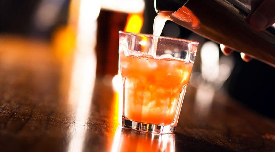 Bebida alcholica para llevar