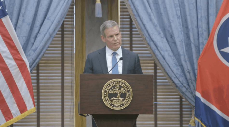 Bill Lee en conferencia prensa mayo 2021
