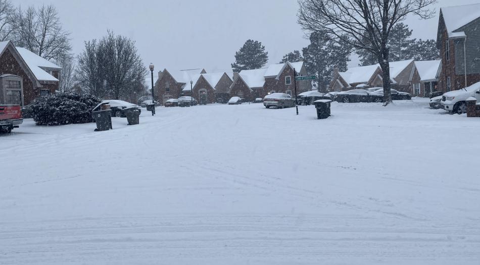 Foto nieve Tennessee