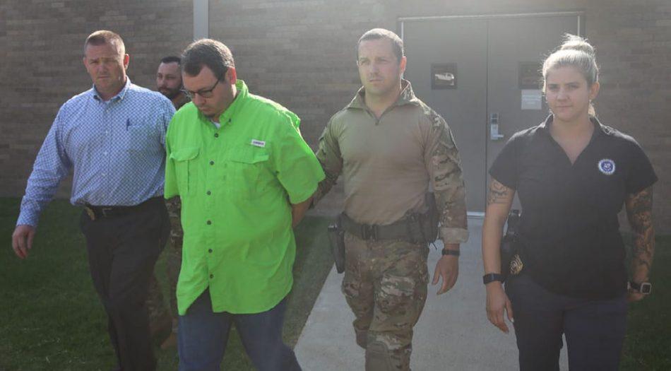 Hombre arrestado en Arkansas