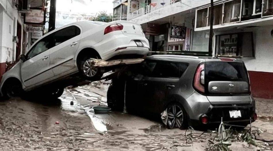 Hurancán Nora Puerto Vallarta