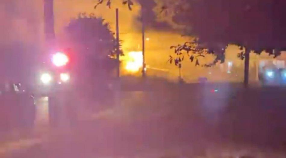 Incendio en Memphis