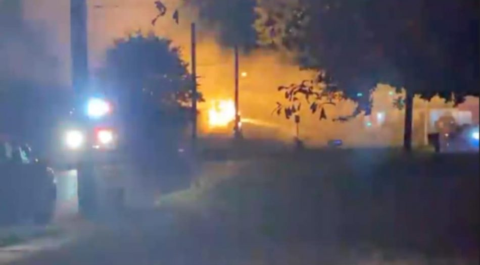 Incendio en Parkway Village