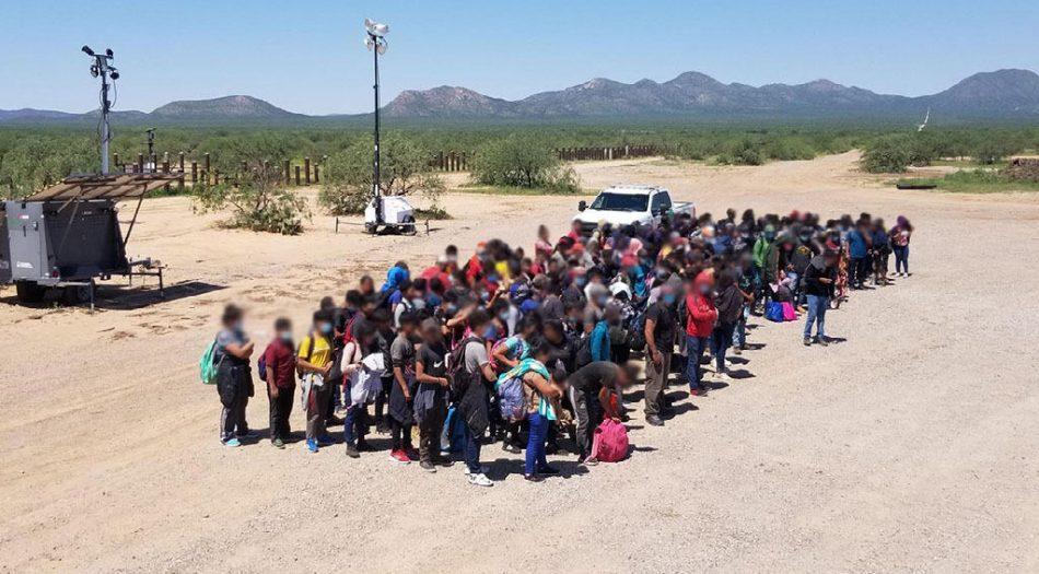 Inmigrantes en Tuczon, Arizona