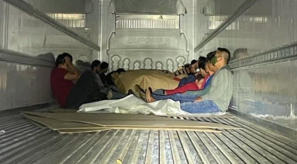Patrulla Fronteriza descubre a inmigrantes
